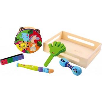 Dětské hudební nástroje - Hudební sada Safari