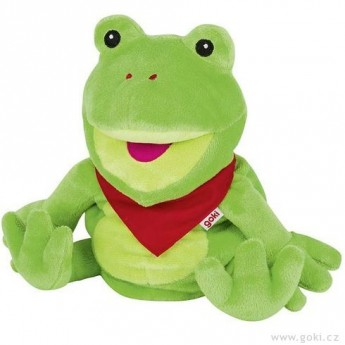 Maňásek na ruku – žabák Frilo