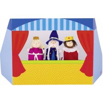 Divadla, loutky, maňásci - Maňáskové divadlo princezna, král a čaroděj