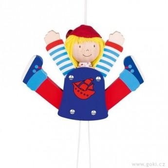 Dětský pokojíček - 3D roztahovačka – pirát