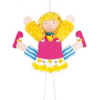 Dětský pokojíček - 3D roztahovačka – holka