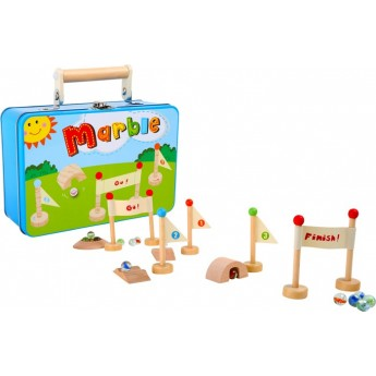 Hračky na ven - Hra kuličky v plechovém kufříku