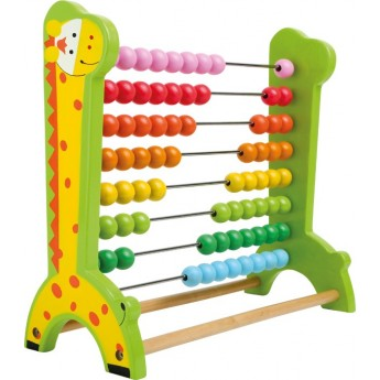 Školní potřeby - Dřevěné počítadlo Žirafa