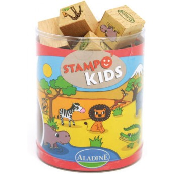 Výtvarné a kreativní hračky - Dětská razítka Zoo