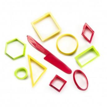 Výtvarné a kreativní hračky - Sada vykrajovátek - geometrické tvary