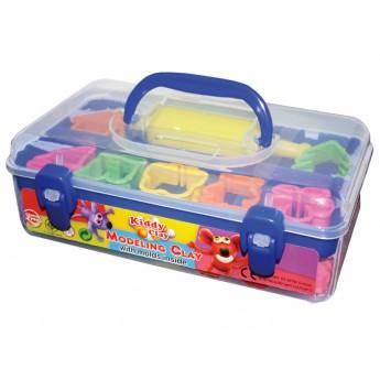 Výtvarné a kreativní hračky - Modelovací hmota - kufřík + vykrajovátka