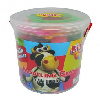 Výtvarné a kreativní hračky - Modelovací hmota - kbelík + vykrajovátka