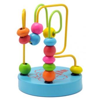 Motorické a didaktické hračky - Mini labyrint - Klaun