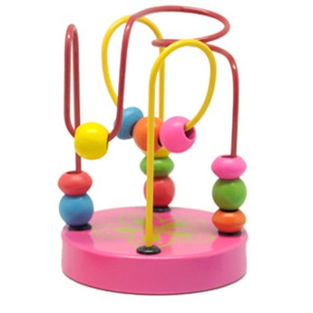 Motorické a didaktické hračky - Mini labyrint - Květina