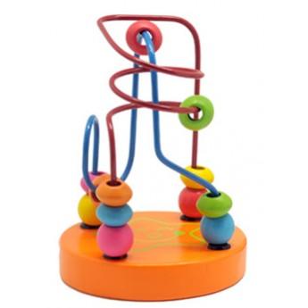 Motorické a didaktické hračky - Mini labyrint - Hvězdička