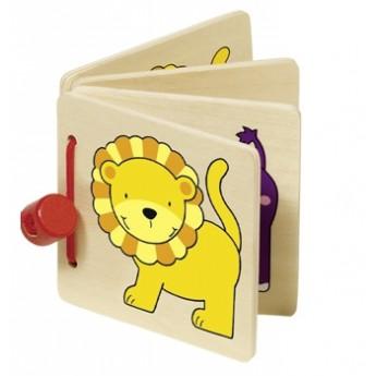 Pro nejmenší - Obrázková knížka pro nejmenší – Divoká zvířátka