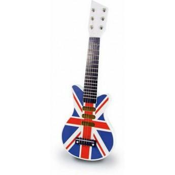 Dětské hudební nástroje - Dětská kytara Union Jack rock'n'roll