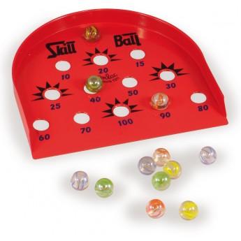 Hračky na ven - Cvrnkání kuliček na body