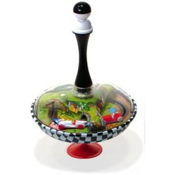 Plechové hračky - Kovová káča Auta
