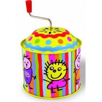 Dětské hudební nástroje - Muzikální hrací skříňka - Děti