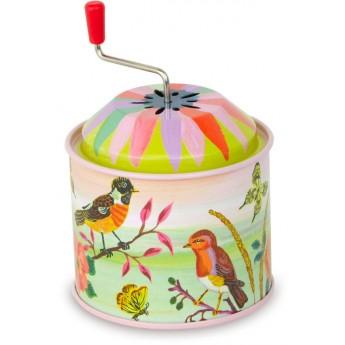 Hrací skříňky - Muzikální hrací skříňka Nathalie - Ptáčci