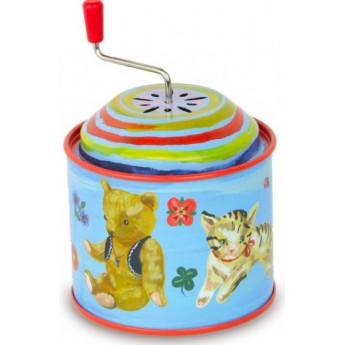 Dětské hudební nástroje - Muzikální hrací skříňka Nathalie - Hračky