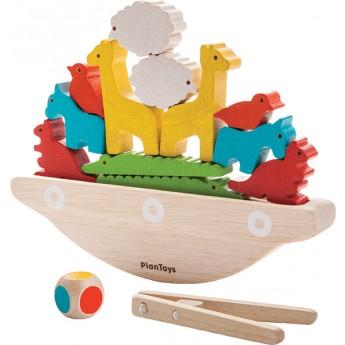 Motorické a didaktické hračky - Balanční loď