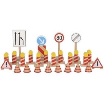 Pro kluky - Dopravní značení – stavba, 26 dílů