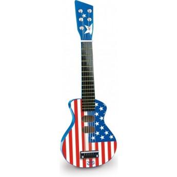 Dětské hudební nástroje - Dětská kytara rock USA