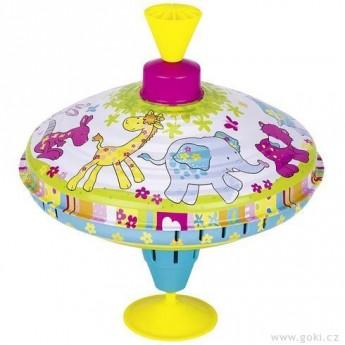Plechové hračky - Hrající káča Susibelle