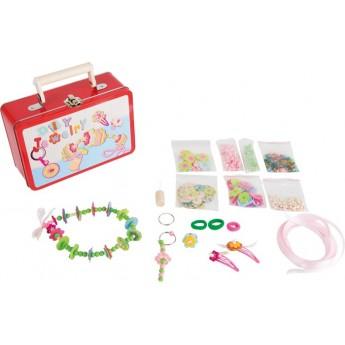 Dětský kufr Výroba šperků