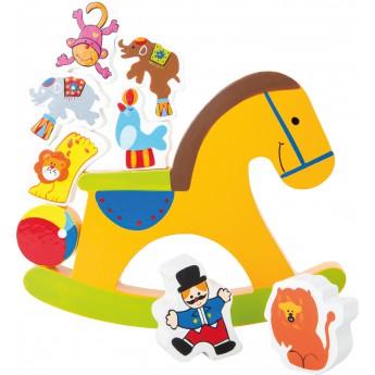 Motorické a didaktické hračky - Balanční hra pro jednoho Kůň