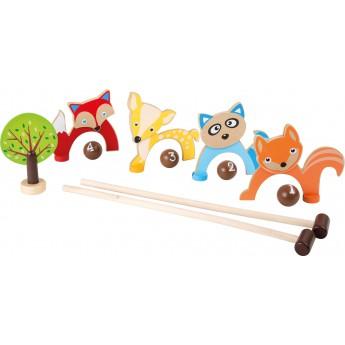 Hračky na ven - Kroket Lesní zvířátka