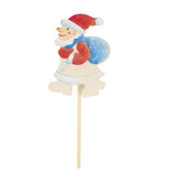 Výtvarné a kreativní hračky - Dekorace k vymalování - Santa