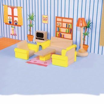 """Pro holky - Nábytek do domečku """"Obývací pokoj"""""""