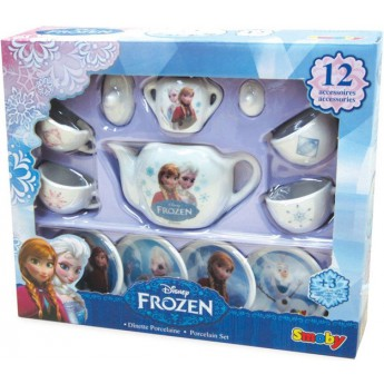 Pro holky - Porcelánové nádobíčko pro panenky Frozen