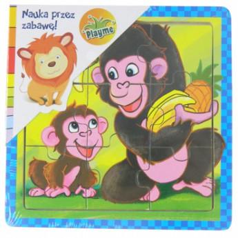 Puzzle - Puzzle mini Opičky