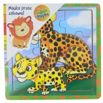Puzzle - Puzzle mini Tygři