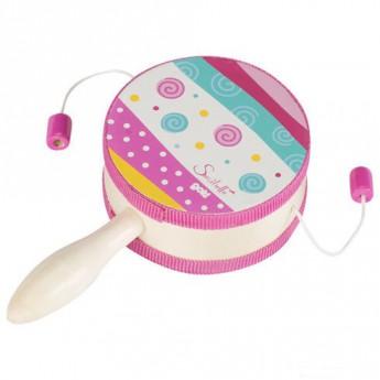 Dětské hudební nástroje - Bubínek s rukojetí Susibell