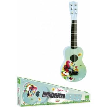 Dětské hudební nástroje - Dětská kytara Woodland