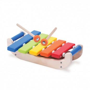 Dětské hudební nástroje - Dětský dřevěný xylofon