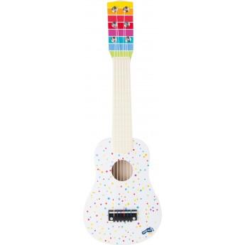 Dětská kytara puntíky