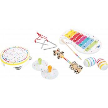 Dětské hudební nástroje - Hudební set s puntíky