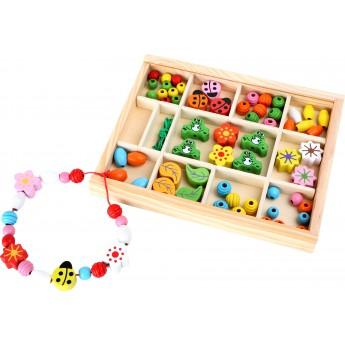 Pro holky - Navlékání tvarů v krabičce