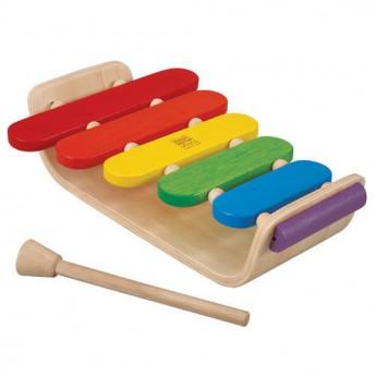 Dětské hudební nástroje - Xylofon Ovál
