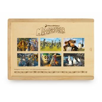Puzzle - Puzzle v krabičce, 72ks - africká zvířátka