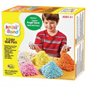 Výtvarné a kreativní hračky - Magický písek sada 5 písků
