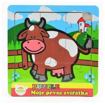 Puzzle - Puzzle mini Moje první zvířátka - Kravička