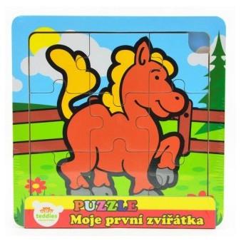 Puzzle mini Moje první zvířátka - Kůň