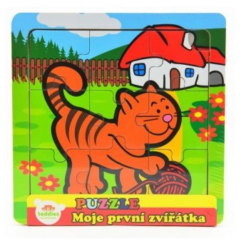 Puzzle - Puzzle mini Moje první zvířátka - Kočka
