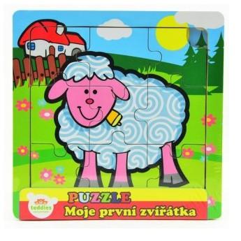 Puzzle - Puzzle mini Moje první zvířátka - Ovečka