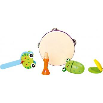 Dětské hudební nástroje - Hudební set Žabicka