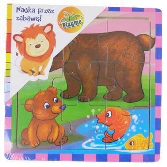 Puzzle - Puzzle mini Medvědi