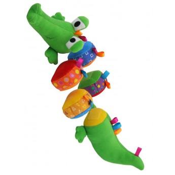 Pro nejmenší - Edukační plyšový krokodýl