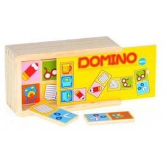Dřevěné domino Svět kolem nás